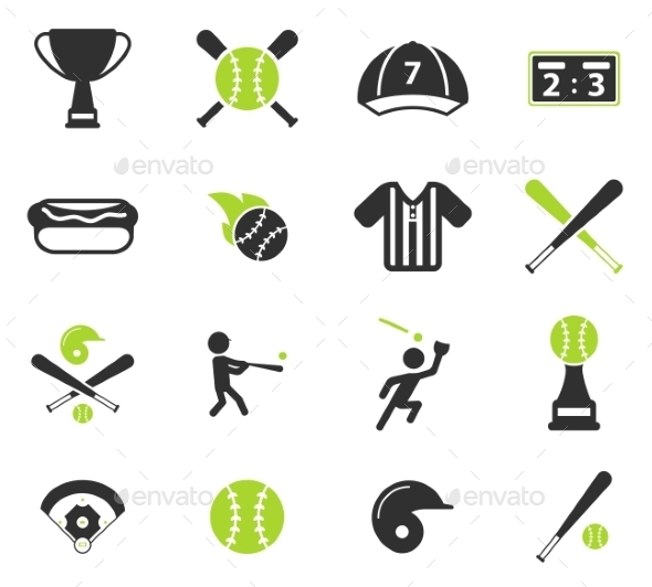 Baseball Simply Icons - Icons