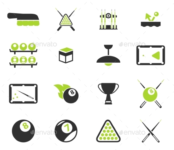 Billiards Simply Icons - Icons