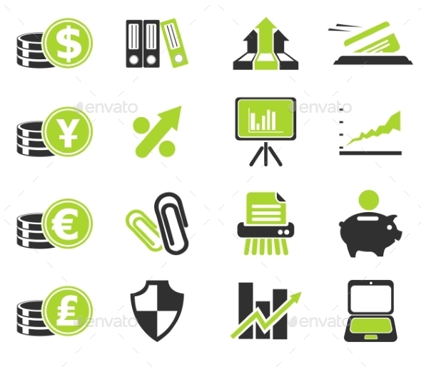 Business And Finance Web Icons  - Icons