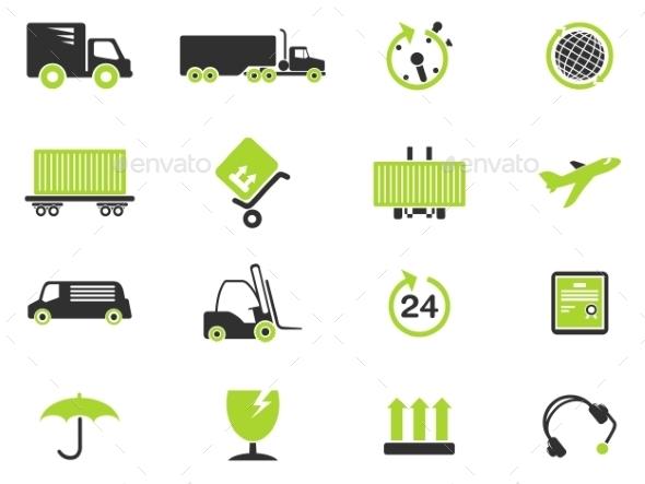 Cargo Shipping Symbols - Icons