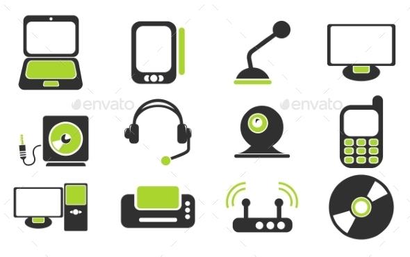 Media Icons Set - Icons