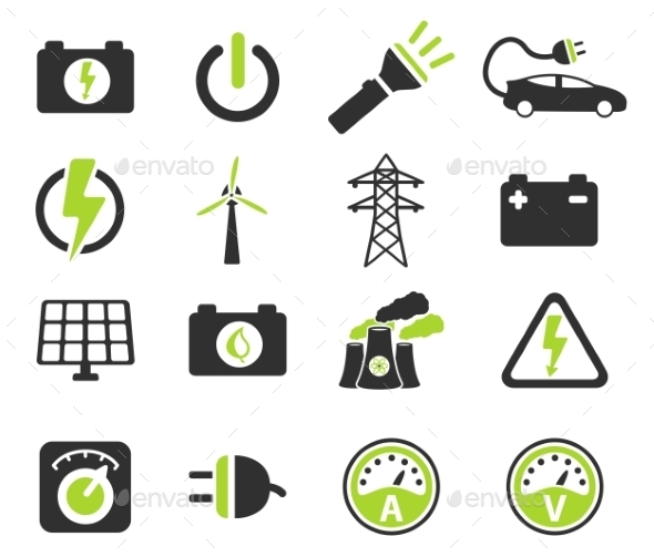 Electricity Simply Icons - Icons