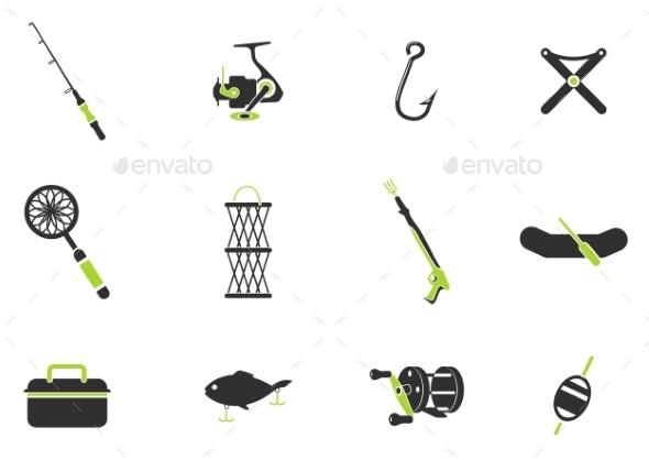 Fishing Icon Set - Icons
