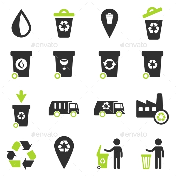 Garbage Simply Icons - Icons