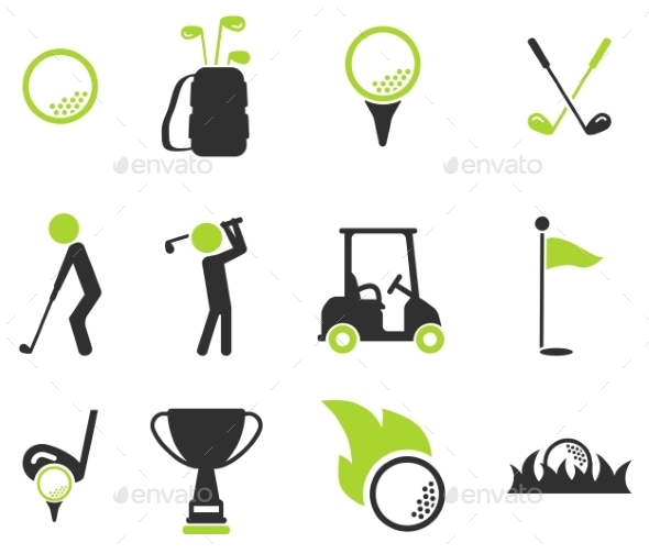 Golf Simply Icons - Icons