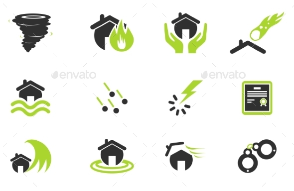 Home Insurance Icons - Icons