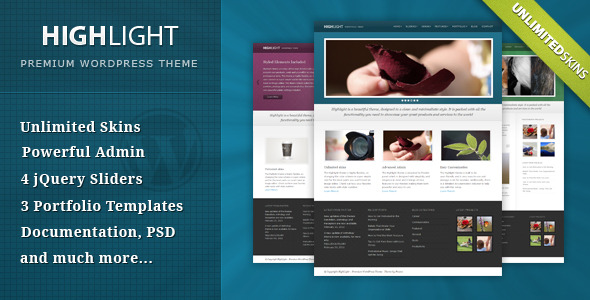 Highlight – Powerful Premium WordPress Theme