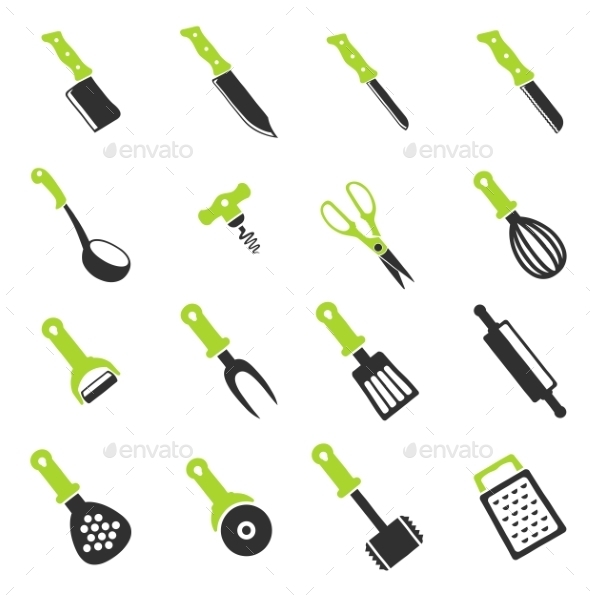 Kitchen Tools - Icons
