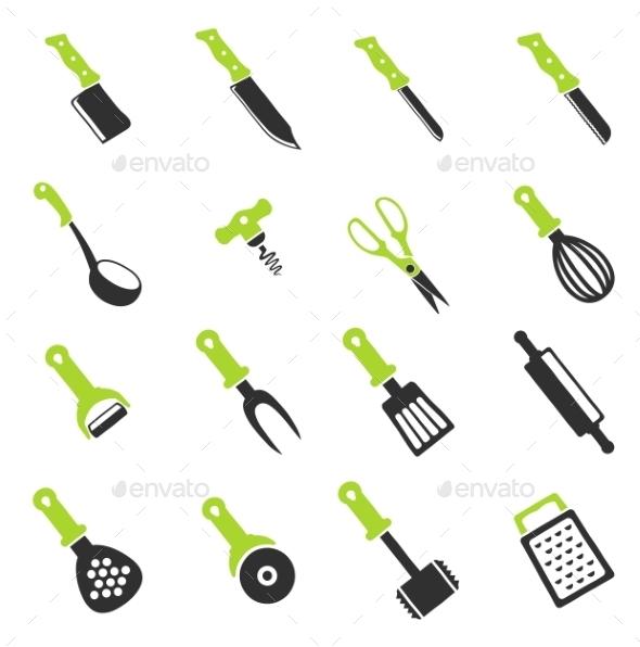 Kitchen Tools - Icons