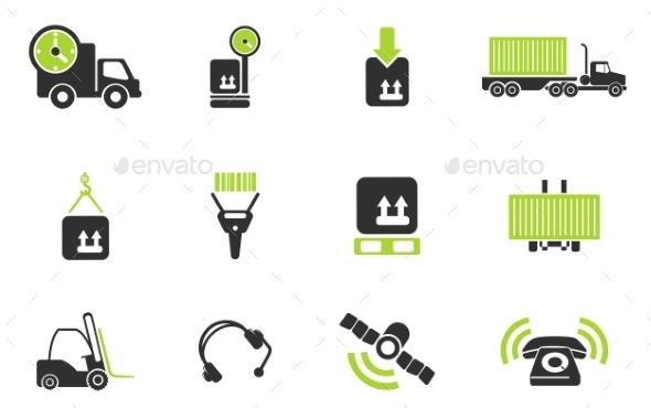 Logistics Icons - Icons