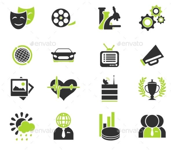 Media Vector Icon Set - Icons