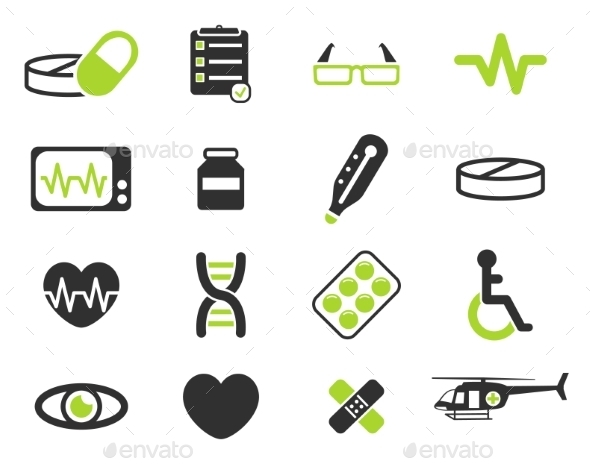 Medical Simply Icons - Icons