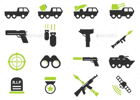 Military Simply Icons - Icons