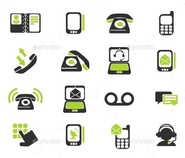 Telephone Icons - Icons