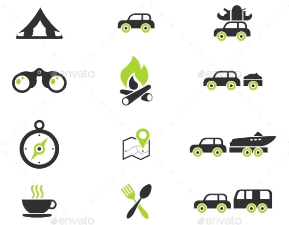 Tourism And Travel Icons - Icons