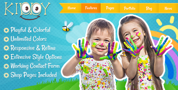 Kiddy - Children HTML Template - Children Retail