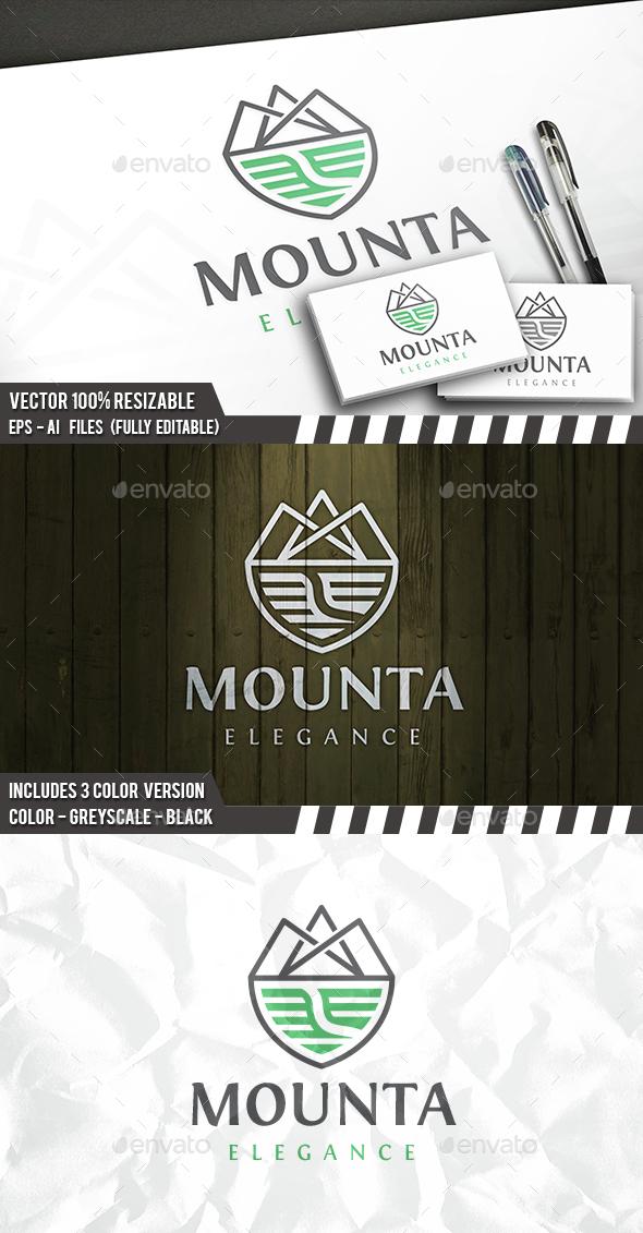 Mountain Trail Logo - Nature Logo Templates