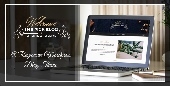 Pick – A Responsive WordPress Blog Theme