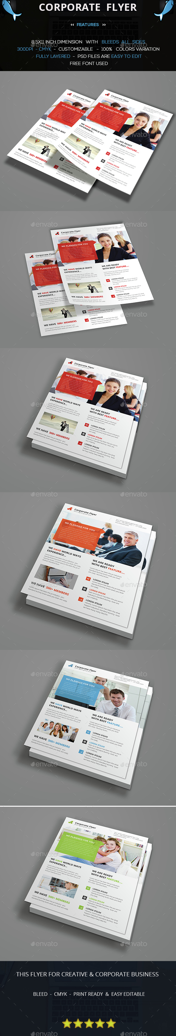 Simply Flyer Template - Corporate Flyers