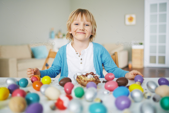 Easter dessert - Stock Photo - Images