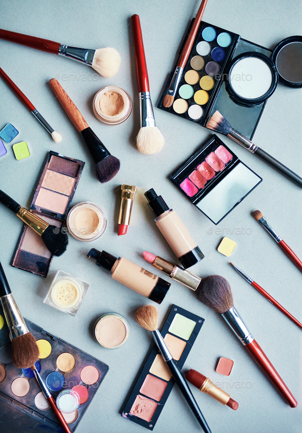 Objects for makeup - Stock Photo - Images