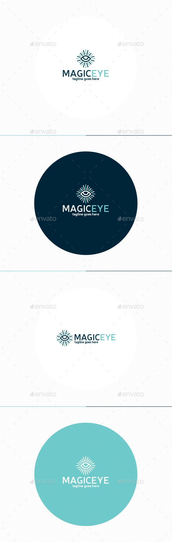 Magic Eye Logo - Symbols Logo Templates