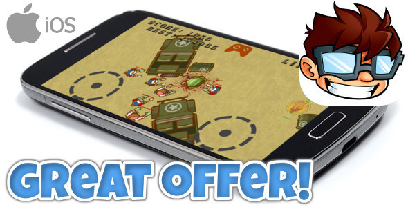 Zombie Shooter iOS +Admob // iAds +Game Center - CodeCanyon Item for Sale