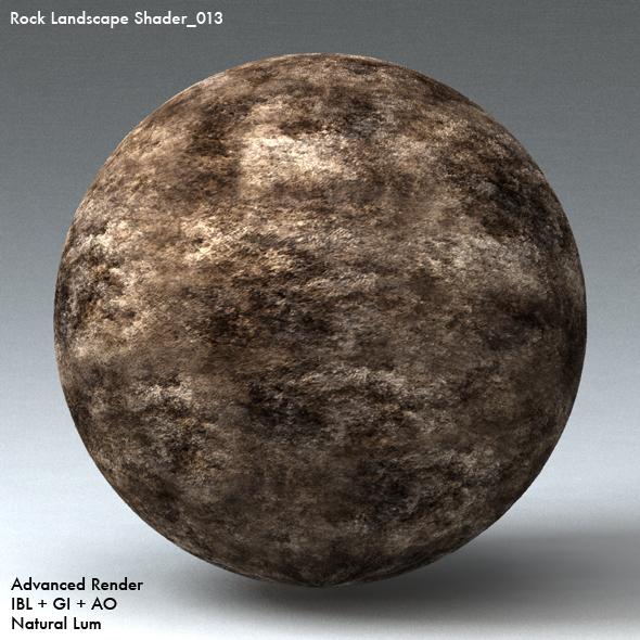 Rock Landscape Shader_013 - 3DOcean Item for Sale