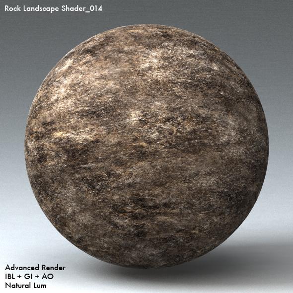 Rock Landscape Shader_014 - 3DOcean Item for Sale