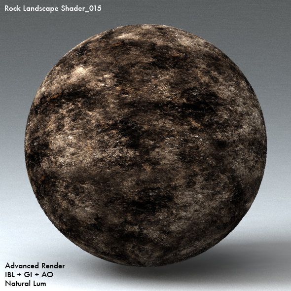 Rock Landscape Shader_015 - 3DOcean Item for Sale
