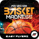 Basket Madness Flyer Template - GraphicRiver Item for Sale