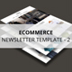 Ecommerce - Newsletter Template v2 - GraphicRiver Item for Sale