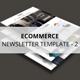 Ecommerce - Newsletter Template v2 - GraphicRiver Item for Sale