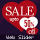 Valentine Web slider - GraphicRiver Item for Sale