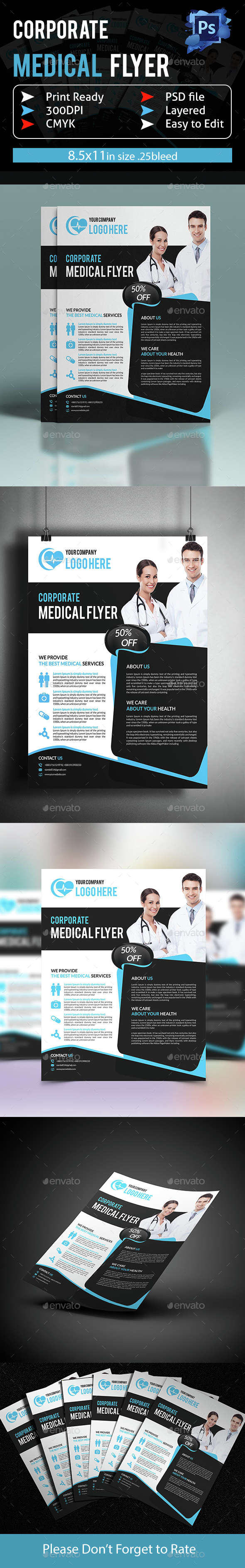 Corporate Medical Flyer - Corporate Flyers