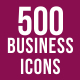 500 Business Management Icons Bundle - GraphicRiver Item for Sale