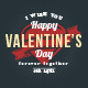 Set of 9 St. Valentine's Badges - GraphicRiver Item for Sale