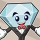 Diamond Mascot  - GraphicRiver Item for Sale