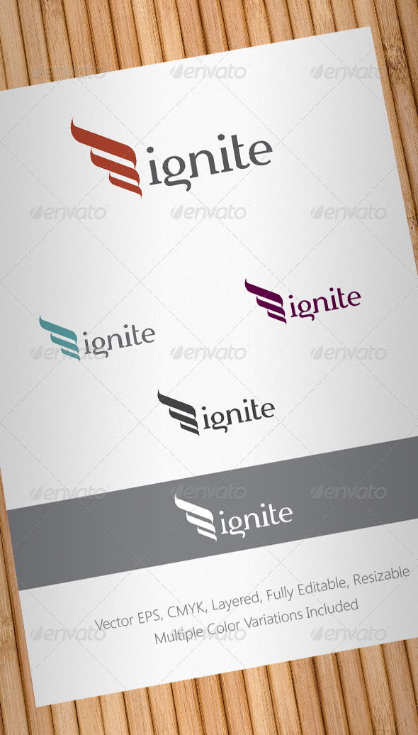 Ignite Logo Template - Abstract Logo Templates