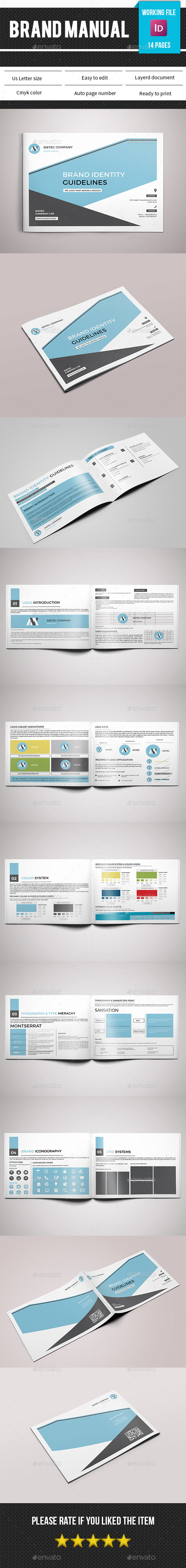 Brand Manual Template-V04 - Informational Brochures