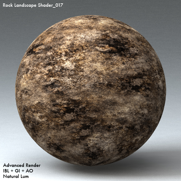 Rock Landscape Shader_017 - 3DOcean Item for Sale