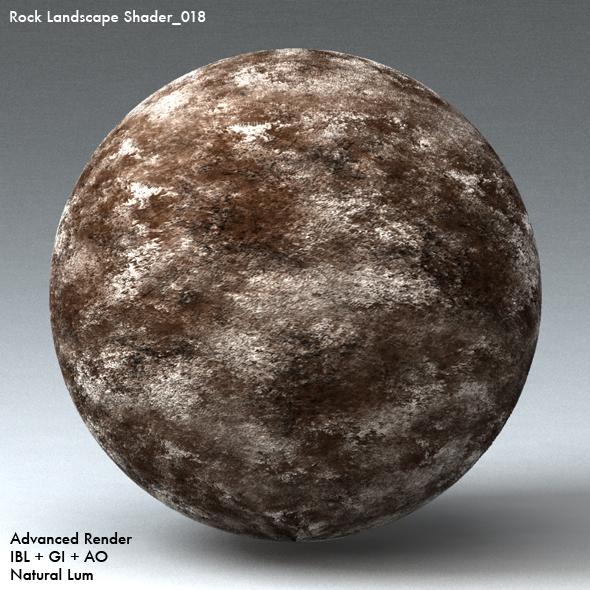 Rock Landscape Shader_018 - 3DOcean Item for Sale