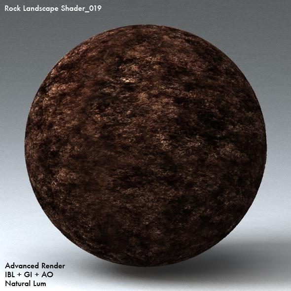 Rock Landscape Shader_019 - 3DOcean Item for Sale