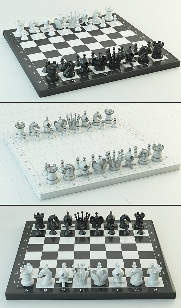 Chess 2 - 3DOcean Item for Sale