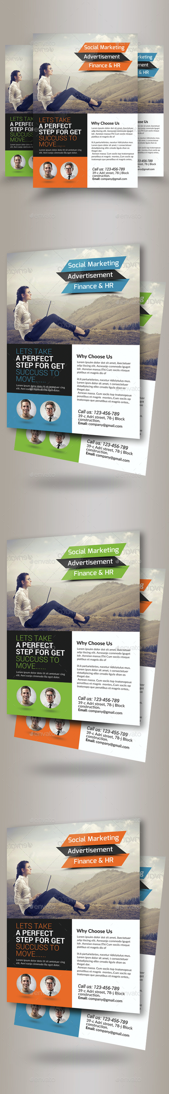 Marketing Consulting Business Flyer  - Corporate Flyers