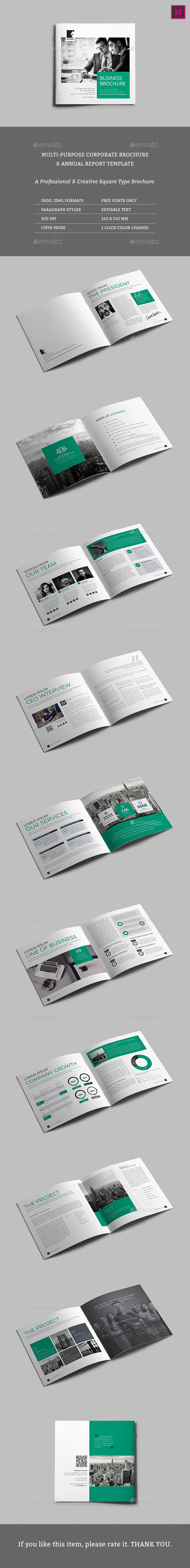 Square Access Multipurpose Brochure - Corporate Brochures