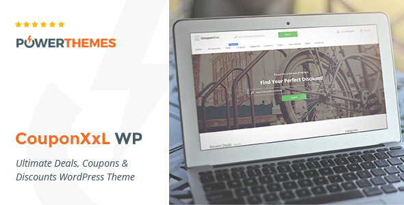 CouponXxL – Deals, Coupons & Discounts WP Theme