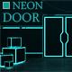 Open Neon Door - VideoHive Item for Sale
