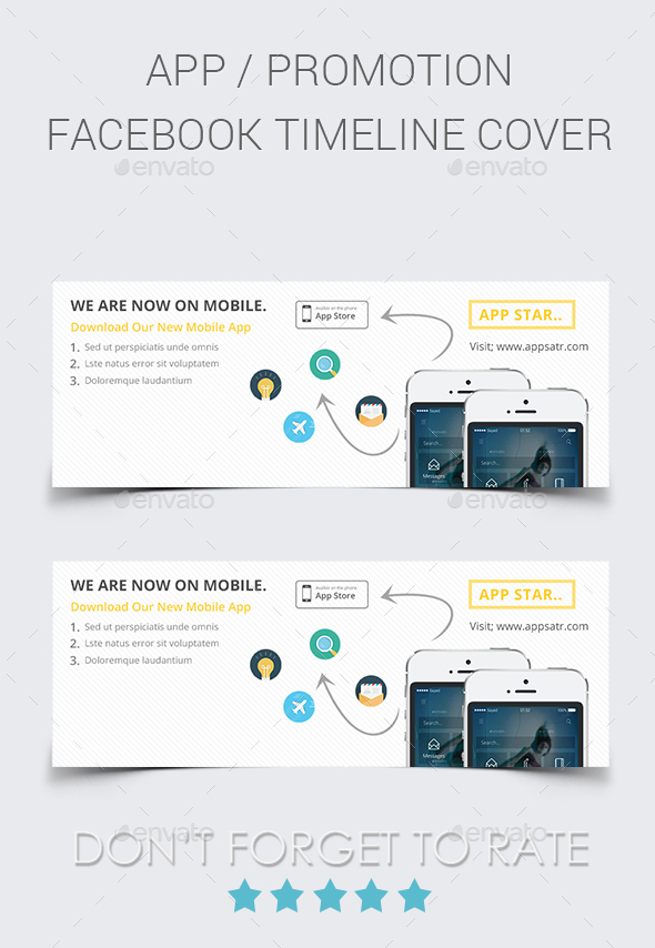 Mobile App Facebook Cover - Facebook Timeline Covers Social Media