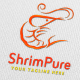 ShrimPure Logo Template - GraphicRiver Item for Sale